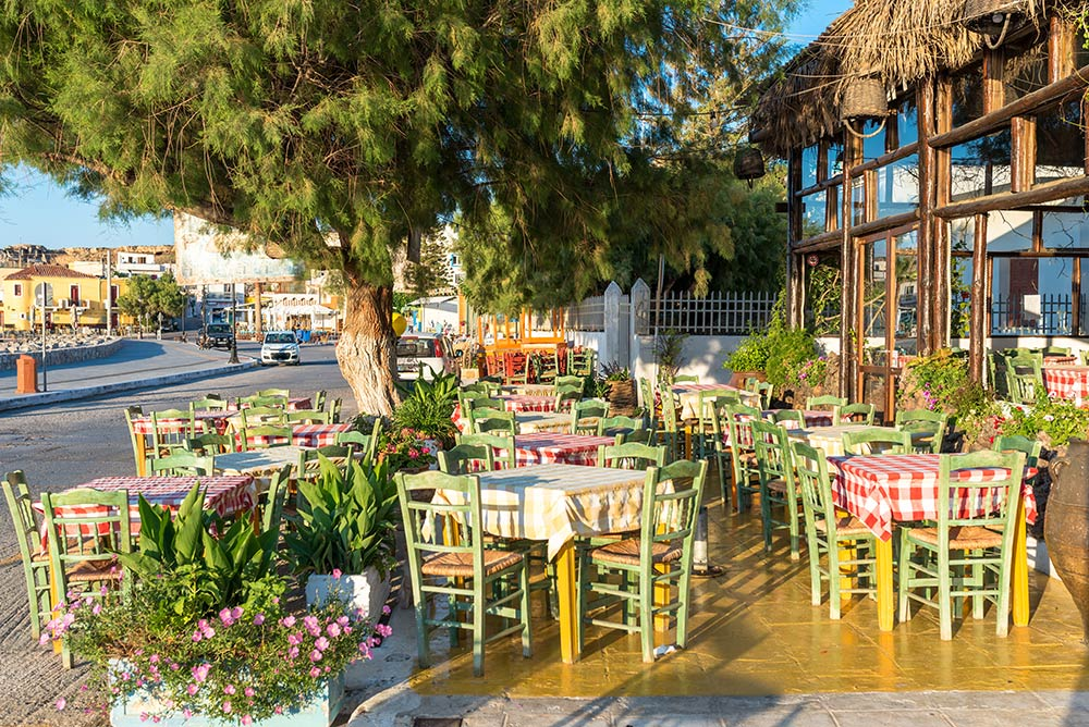 Tavernas & Restaurants in Paleochora
