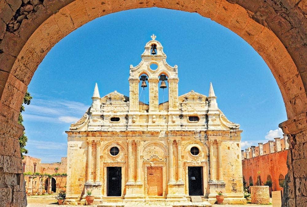 монастыря Аркади