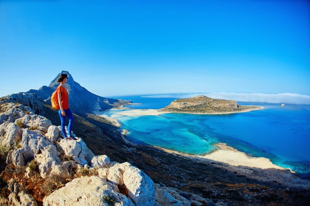 Panoramic View of Balos Bay
